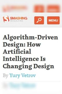 Algorithm-Driven Design summary