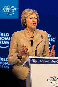 Theresa May at Davos 2017 summary