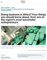 Doing Business in Africa? summary
