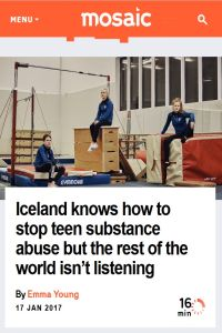 Iceland Knows How to Stop Teen Substance Abuse but the Rest of the World Isn't Listening summary