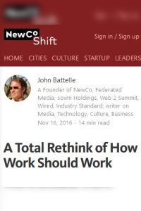 A Total Rethink of How Work Should Work summary