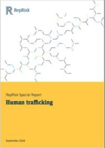 RepRisk Special Report on Human Trafficking summary