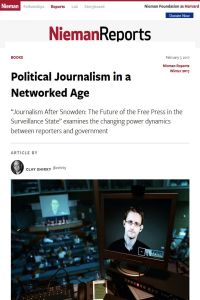 Political Journalism in a Networked Age summary