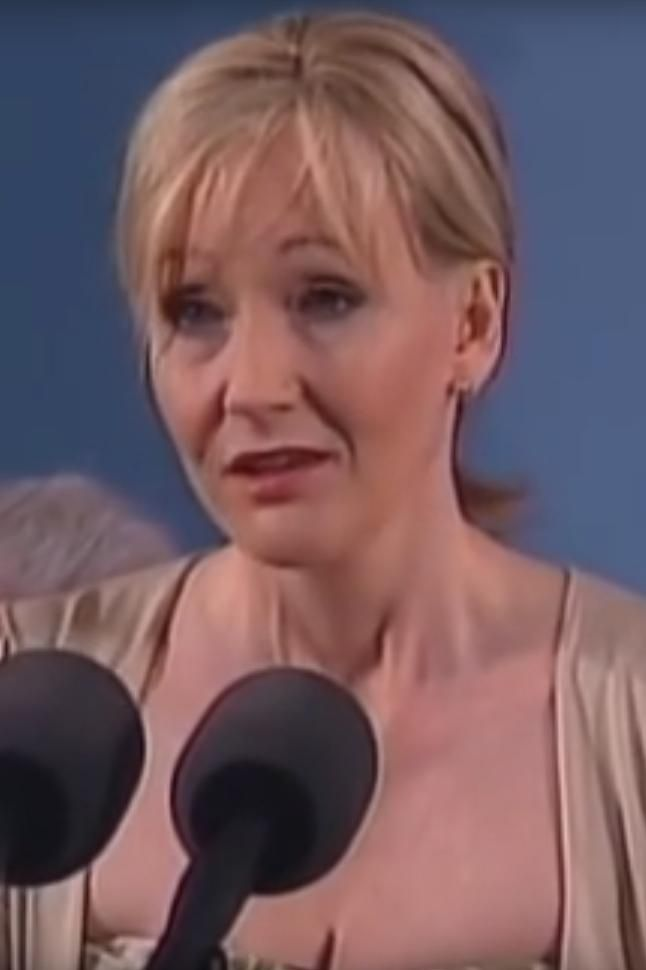 Image of: J.K. Rowling Harvard Commencement Speech