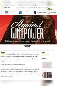 Against Willpower summary