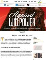 Against Willpower