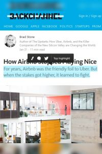 How Airbnb Stopped Playing Nice summary