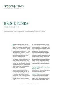 Hedge Funds summary