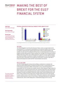 Making the Best of Brexit for the EU27 Financial System summary