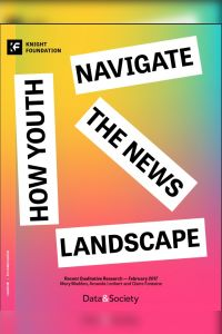 How Youth Navigate the News Landscape summary