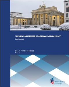 The New Parameters of German Foreign Policy