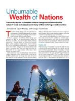 Unburnable Wealth of Nations