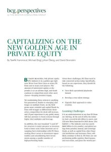 Capitalizing on the New Golden Age in Private Equity