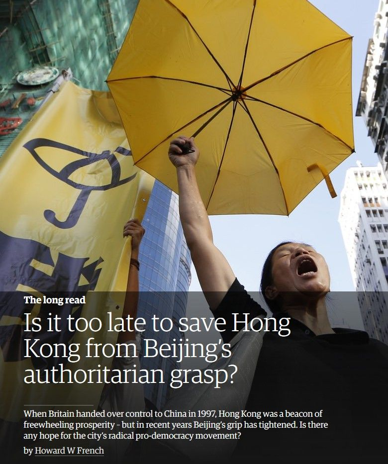 Image of: Is It Too Late to Save Hong Kong from Beijing's Authoritarian Grasp?
