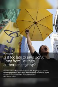 Is It Too Late to Save Hong Kong from Beijing's Authoritarian Grasp? summary