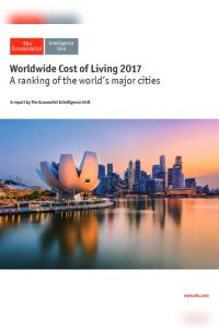 Worldwide Cost of Living 2017 summary