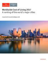 Worldwide Cost of Living 2017