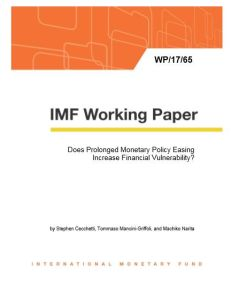 Does Prolonged Monetary Policy Easing Increase Financial Vulnerability? summary