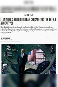 Elon Musk's Billion-Dollar Crusade to Stop the A.I. Apocalypse summary