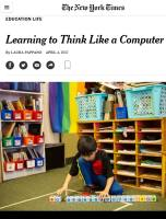 Learning to Think like a Computer