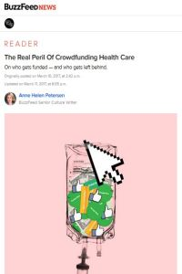 The Real Peril Of Crowdfunding Health Care summary