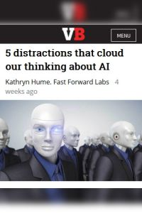 5 Distractions that Cloud Our Thinking About AI summary