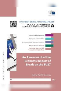 An Assessment of the Economic Impact of Brexit on the EU27 summary