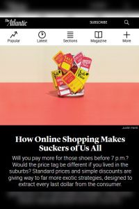How Online Shopping Makes Suckers of Us All summary
