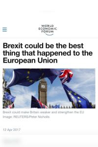 Brexit could be the best thing that happened to the European Union summary
