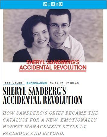 Image of: Sheryl Sandberg's Accidental Revolution