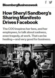 How Sheryl Sandberg's Sharing Manifesto Drives Facebook summary