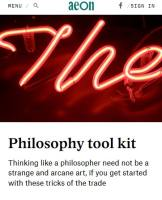 Philosophy Tool Kit
