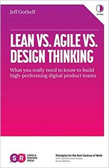 Image of: Lean vs. Agile vs. Design Thinking