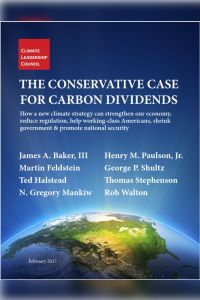 The Conservative Case for Carbon Dividends summary