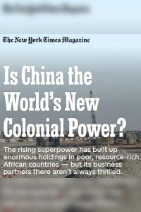 Is China the World's New Colonial Power? summary