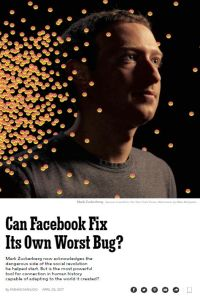 Can Facebook Fix Its Own Worst Bug? summary