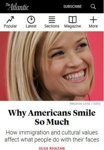Why Do Americans Smile So Much? summary