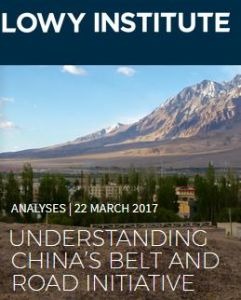 Understanding China's Belt and Road Initiative summary