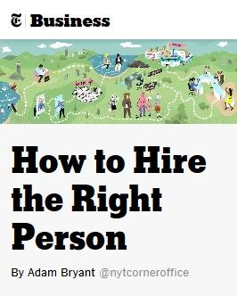 Image of: How to Hire the Right Person