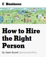 How to Hire the Right Person