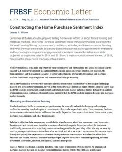 Constructing the Home Purchase Sentiment Index
