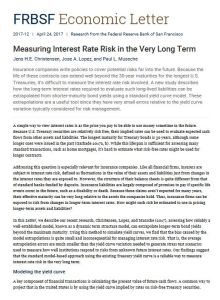 Measuring Interest Rate Risk in the Very Long Term  summary
