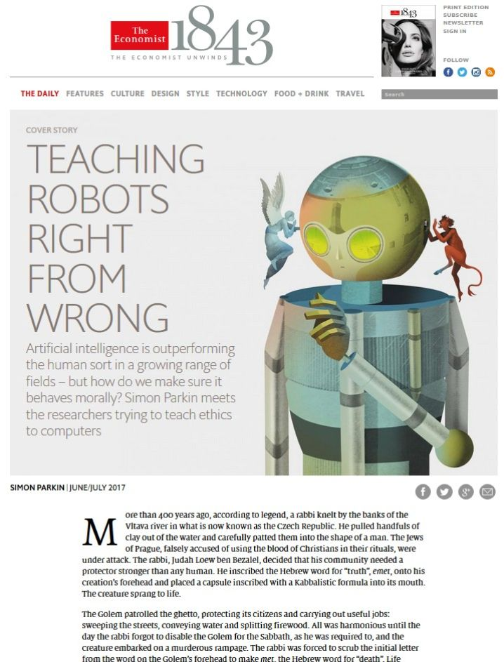 Image of: Teaching Robots Right from Wrong