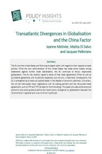 Transatlantic Divergences in Globalisation and the China Factor summary