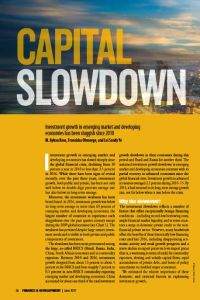 Capital Slowdown summary
