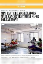 Mini Particle Accelerators Make Cancer Treatment Safer for Everyone