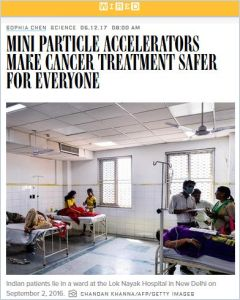 Mini Particle Accelerators Make Cancer Treatment Safer for Everyone summary