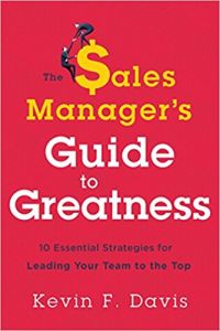 The Sales Manager's Guide to Greatness book summary