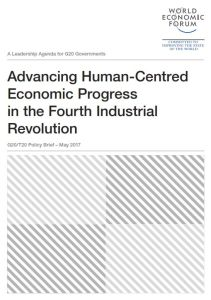 Advancing Human-Centred Economic Progress  in the Fourth Industrial Revolution summary
