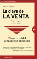 La clave de la venta (Selling to the Point)